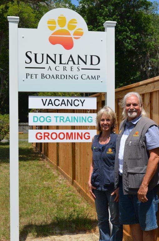 Lynn & James Sunland Sign